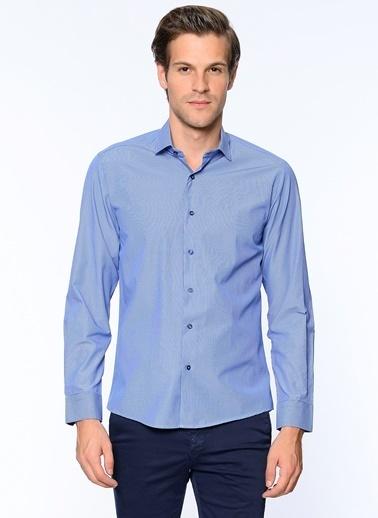 Uzun Kollu Slim Fit Gömlek-Wessi